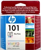 Картридж оригинальный голубой (cyan) HP C9365AE (№101), ресурс 340 стр.