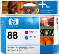 Комплект HP C9382AE пурпурной и голубой печатающих головок №88. (Magenta + Cyan Printhead)
