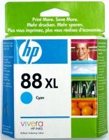 Картридж оригинальный (увеличенного объема) голубой (cyan) HP C9391AE (№88XL), ресурс 1700 стр.