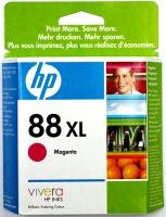 Картридж оригинальный (увеличенного объема) пурпурный (magenta) HP C9392AE (№88XL), ресурс 1980 стр.