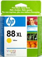 Картридж оригинальный (увеличенного объема) желтый (yellow) HP C9393AE (№88XL), ресурс 1540 стр.
