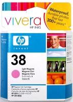Картридж оригинальный светло-пурпурный (lighgt magenta) HP C9419A (№38), ресурс 840 стр.
