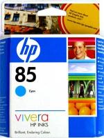Картридж оригинальный голубой (cyan) HP C9425A (№85), емкость 28 мл.