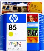 Картридж оригинальный желтый (yellow) HP C9427A (№85), емкость 69 мл.