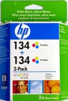 Картридж оригинальный цветной HP C9505HE (C9363 (№134)) Color (двойная упаковка), ресурс 2 х 560 стр.