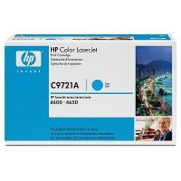 Картридж оригинальный голубой (cyan) HP C9721A, ресурс 8000 стр.
