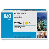 Картридж оригинальный желтый (yellow) HP C9722A, ресурс 8000 стр.