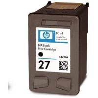 Картридж оригинальный (в технологической упаковке) HP C8727A (№27) Black, ресурс 280 стр.