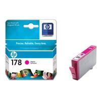Картридж оригинальный пурпурный (magenta) HP CB319HE  №178,  ресурс 300 стр.