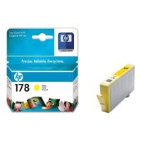 Картридж оригинальный желтый (yellow) HP CB320HE  №178,  ресурс 300 стр.