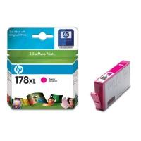 Картридж оригинальный (увеличенного объема) пурпурный (magenta) HP CB324HE  №178XL,  ресурс 750 стр/