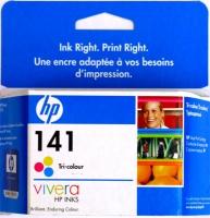 Картридж оригинальный цветной HP CB337HE (№141) Color, ресурс 170 стр.
