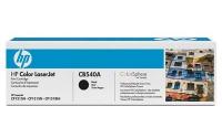 Картридж оригинальный черный (black) HP CB540A, ресурс 2200 стр.