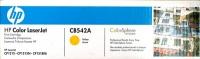 Картридж оригинальный желтый (yellow) HP CB542A, ресурс 1400 стр.
