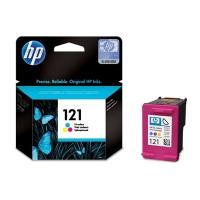 Картридж оригинальный цветной HP №121 CC643HE Color, ресурс 165 стр.