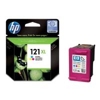Картридж оригинальный (увеличенного объема) цветной HP №121XL CC644HE Color, ресурс 440 стр.