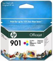 Картридж оригинальный цветной HP №901 CC656AE Color, ресурс 360 стр.