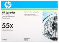 Картридж оригинальный HP CE255X, ресурс 12 500 стр.