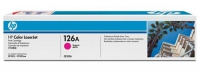 Картридж оригинальный пурпурный (magenta) HP CE313A (126A / 126А), ресурс 1000 стр.