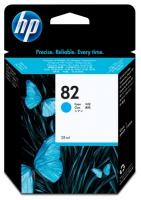 Картридж оригинальный голубой (cyan) HP CH566A (№82), объем 28 мл.