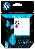 Картридж оригинальный пурпурный (magenta) HP CH567A (№82), объем 28 мл.