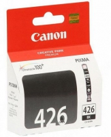 Картридж оригинальный черный (black) Canon CLI-426BK, ресурс 450 стр.