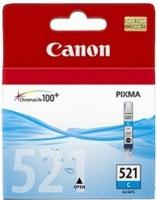 Картридж оригинальный голубой (cyan) Canon CLI-521C, объем 9 мл.