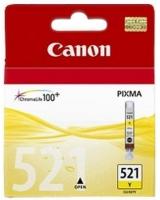 Картридж оригинальный желтый (yellow) Canon CLI-521Y, объем 9 мл.