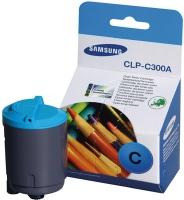 Картридж оригинальный голубой (cyan) Samsung CLP-C300A, ресурс 1000 стр.