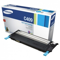 Картридж оригинальный голубой (cyan) Samsung CLT-C409S, ресурс 1000 стр.