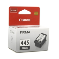Картридж оригинальный черный (black) Canon PG-445, ресурс 180 стр.