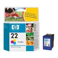 Картридж оригинальный цветной HP C9352A (№ 22) Color, ресурс 150 стр.