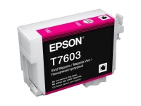 Картридж оригинальный (блистер) Epson T7603 SС P-600 Magenta