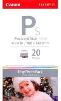 Набор для фотопечати оригинальный Canon E-P20S Silver (А6 20 л. + картридж)