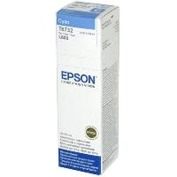Контейнер оригинальный (в технологической упаковке) с голубыми чернилами (cyan) Epson C13T67324A / T6732, объем 70 мл.