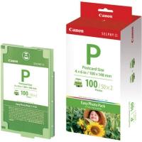Набор для фотопечати оригинальный Canon E-P100  (А6 100 л. + картридж)