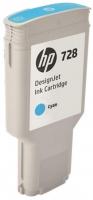 Картридж оригинальный HP F9J67A (№728) Cyan