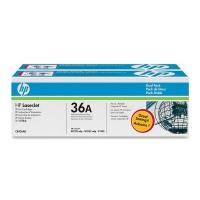 Картридж оригинальный (двойная упаковка) HP CB436A №36, ресурс 2 х 2000 стр.