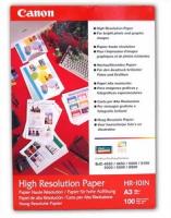 Бумага Canon HR-101N (High Resolution Paper) матовая A3, 106 г/м2, 20 л.