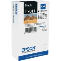 Картридж оригинальный черный (black) Epson T7011 XXL / C13T701140, ресурс 3400 стр.