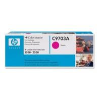 Картридж оригинальный пурпурный (magenta) HP C9703A, ресурс 4000 стр.