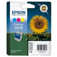 Картридж оригинальный (блистер) цветной Epson T018 color, ресурс 300 стр.