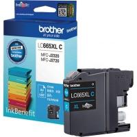 Картридж оригинальный Brother LC-665XL-С (увеличенный объем), ресурс 1200 стр.