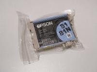 Картридж оригинальный (блистер) (повышенной емкости) светло-голубой (light cyan) Epson T0815 / C13T08154A, объем 11,1 мл.