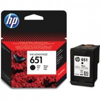 Картридж оригинальный черный HP C2P10AE (№651) Black, ресурс 600 стр.