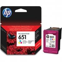 Картридж оригинальный цветной HP C2P11AE (№651) Color, ресурс 300 стр.