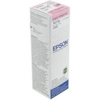 Контейнер оригинальный (в технологической упаковке) со светло-пурпурными чернилами (light magenta) Epson C13T67364A / T6736, объем 70 мл.