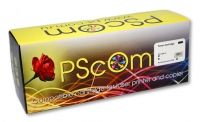 Картридж Ps-Com голубой (cyan) совместимый с Samsung CLP-C300A / Xerox 106R01206, ресурс 1000 стр.