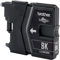 Картридж оригинальный черный (black) Brother LC-985BK, ресурс 300 стр.