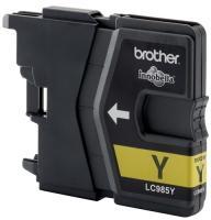 Картридж оригинальный желтый (yellow) Brother LC-985Y, ресурс 260 стр.